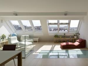 חלונות לגגות רעפים ציר אמצעי בלופט