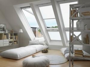 חלון מרפסת בלופט