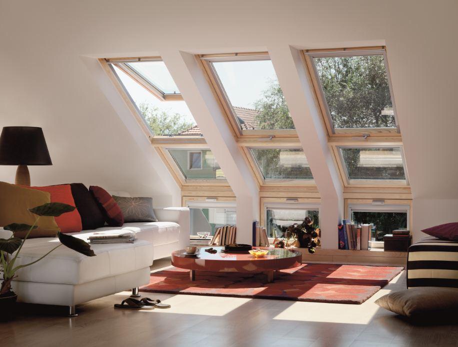 חלונות גג ציר כפול תמונת נושא