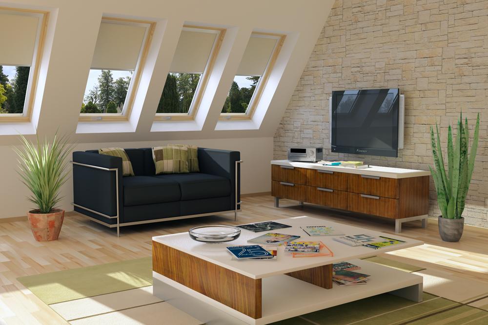 חלונות גג ציר מושלם תמונת נושא