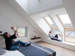 חלונות גג סקיילייט שילובים מיוחדים