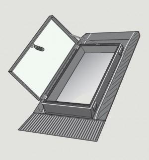 חלון גג דגם GVT