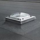תעלת אור לגגות בטון
